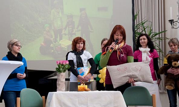 Caritas-Mitarbeiterinnen