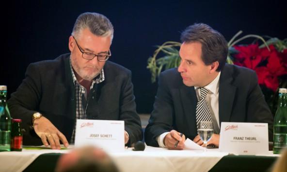 Friede ist eingekehrt im TVB-Osttirol. Sepp Schett und Franz Theurl sind sich in Vielem einig, Andreas Köll – das dritte Vorstandmitglied – hatte anderweitig zu tun.