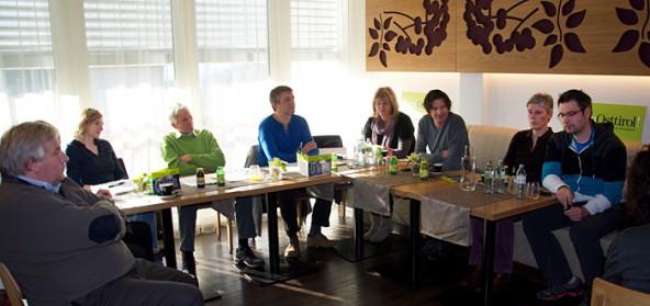 Der Verein innerhalb des Tourismusverbandes zog im Holunderhof Bilanz.