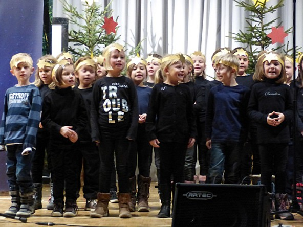 Volksschule-Weihnacht