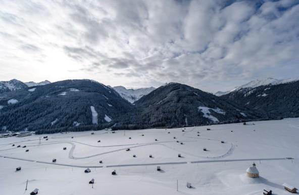 Winterzauber pur und perfekte Loipen samt Infrastruktur – das sind die Argumente für die Austragung des Dolomitenlaufes 2014 in Obertilliach. Fotos: Expa/Gruber