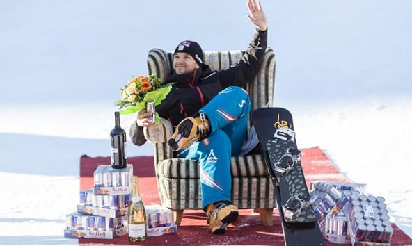In Bad Gastein nahm Sigi Grabner von seinen heimischen Fans Abschied. Foto: Expa/JFK