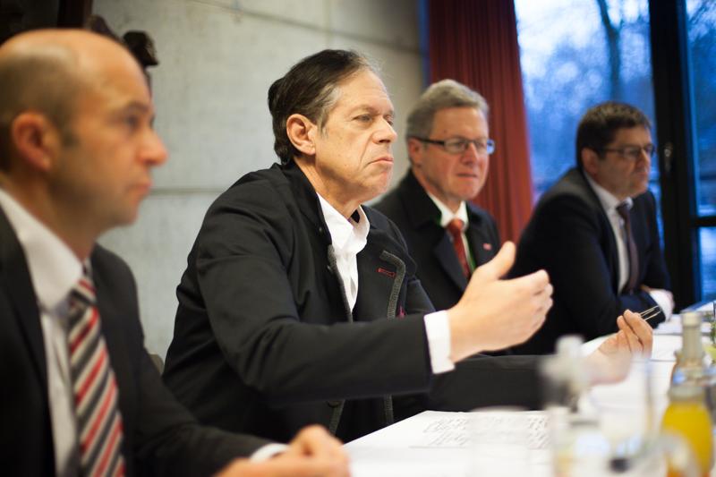 Wirtschaftskammer-Präsident Bodenseer wartet vergebns auf die Entfesselung der Wirtschaft seitens der Bundesregierung. Foto: Michael B. Egger