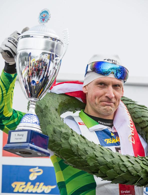 Champion im Classicrace 2014: Routinier Jerry Ahrlin aus Schweden.