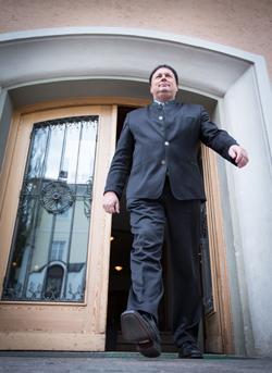 Auch nach seinem Ausscheiden aus dem Landtag marschiert Andreas Köll zielstrebig in Richtung Macht. Foto: Expa/Groder
