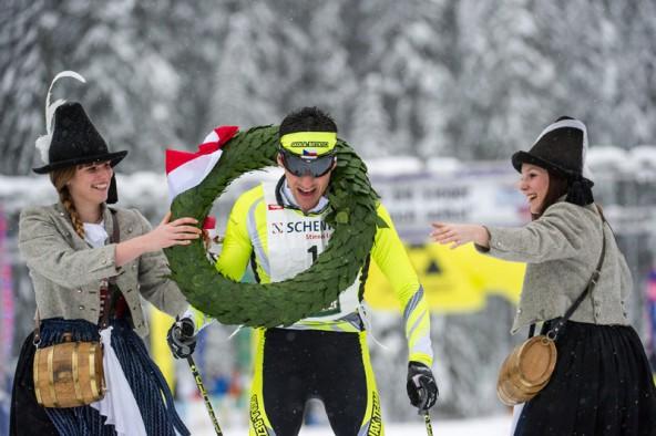 An der Spitze des erfolgreichen tschechischen Teams: Petr Novak, Sieger beim Dolomitenlauf 2013. Fotos: Expa/Gruber
