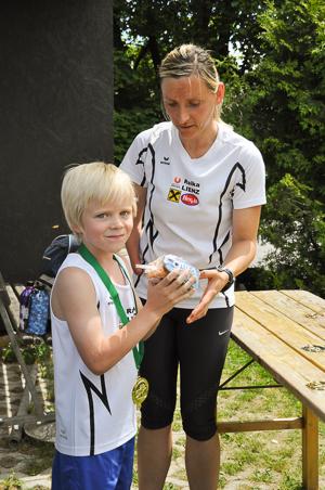 Derzeit arbeitet Anna Maria Mayer als Trainerin im Schulsportservice.