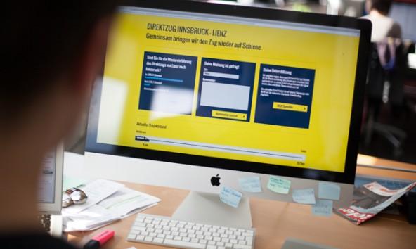 Auf der Crowdfunding-Plattform www.direktzug-lienz.at gibt es außerdem die Möglichkeit, Anregungen sowie Kritik zur derzeitigen Busverbindung zu äußern.