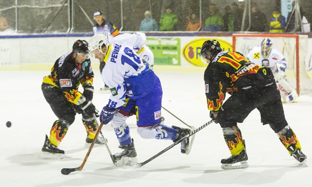 Die Eisbären ließen den Gästen aus Kärnten keinen Chance. Foto: Brunner Images