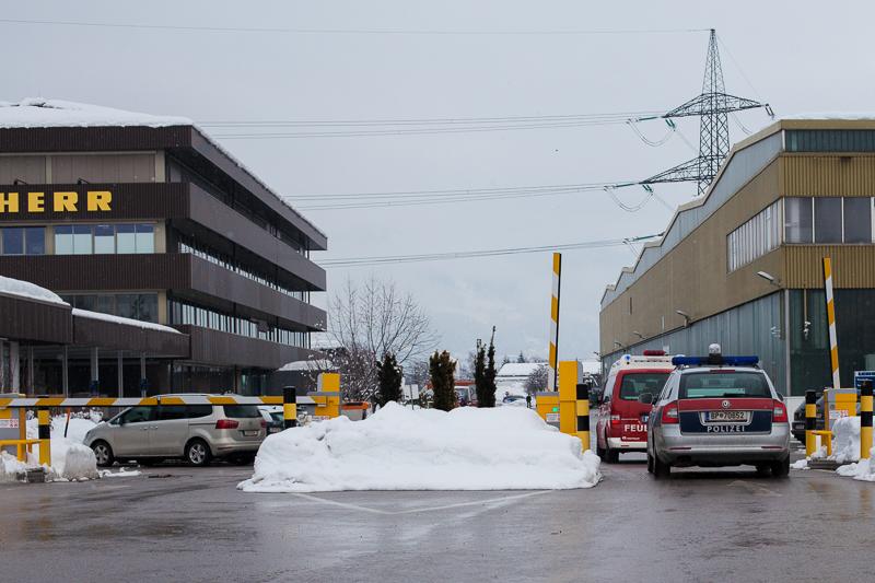 Schon bevor die Polizei eintraf, war der Brand gelöscht.