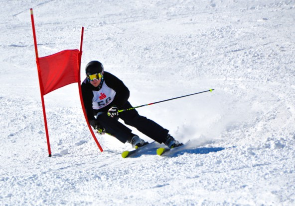 Mario Tiefenbacher ließ der Konkurrenz am Hochstein keine Chance.