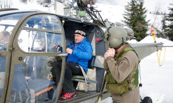 Rudi Mair, Leiter des Lawinenwarndienst Tirol sieht die Lage im Bezirk entspannt. Foto: Brunner Images