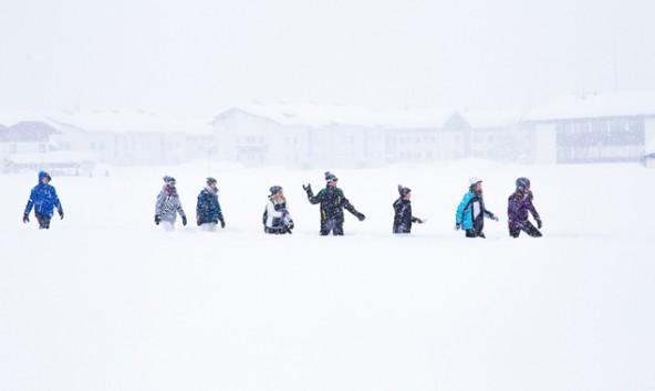 Spiel-im-Schnee