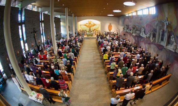 Der öffentliche Teil des Koziltags startet um 18.30 Uhr mit der Heiligen Messe. Foto: Brunner Images