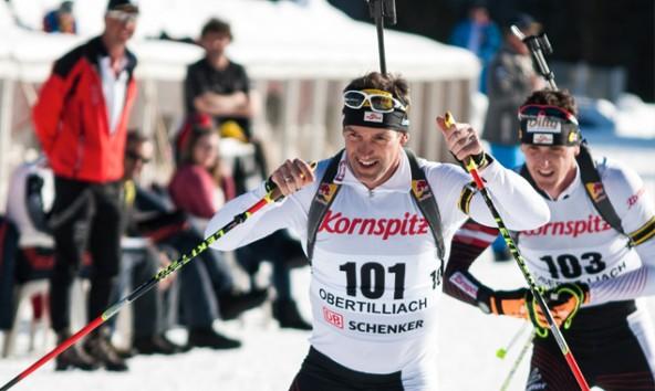 Mit Silber und Bronze bei den Staatsmeisterschaften in Obertilliach beendete der 37-jährige Steirer Christoph Sumann seine Biathlon-Karriere. Foto: Brunner Images