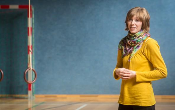 """""""Jeder trägt einen Tänzer in sich"""", ist Gesundheitspädagogin Irina Tegischer überzeugt."""