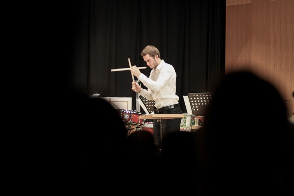 Der Heinfelser Simon Steidl konzertiert mit seinen Ensemble-Kollegen am 29. April im Linzer Brucknerhaus. Foto: Florian Wiedemayr