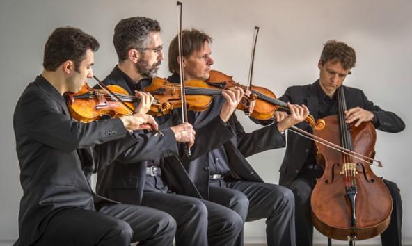 """Das 2003 gegründete """"cedag quartett"""" ist am Freitag, 21. März, in der Landesmusikschule erstmals in Lienz zu hören. Foto: Stadtkultur"""