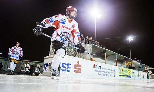Zum letzten Mal in dieser Saison liefen die Lienzer Eislöwen im eigenen Stadion auf. Foto: Brunner Images