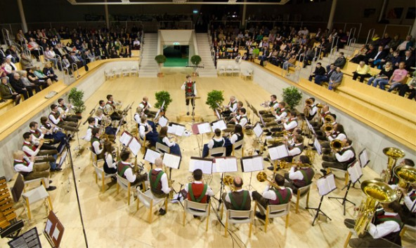 Erstmals wird Jo Mair am Dirigentenpult der Eisenbahner Stadtkapelle Lienz stehen. Foto: Eisenbahner Stadtkapelle