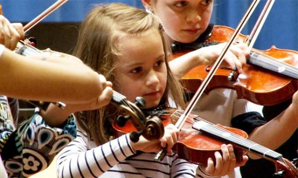 Neben klassischen Werken präsentieren die Musiktalente auch Volksmusik. Foto: Stadtkultur Lienz