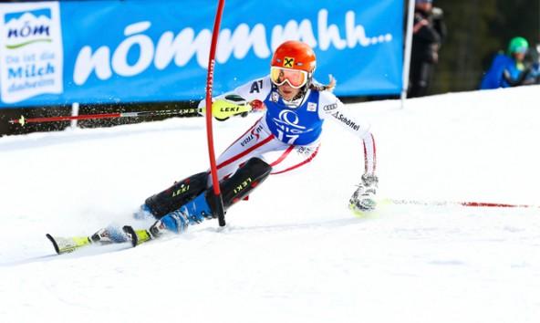 Die Lienzerin Selina Soubek holte sich den Gesamtsieg des Raiffeisen Landescups. Foto: Peter Lintner