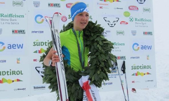 Auf der Laufstrecke entschied die Asslingerin Susanne Mair den Ötzi Alpin Marathon für sich. Fotos: Stefan Mair