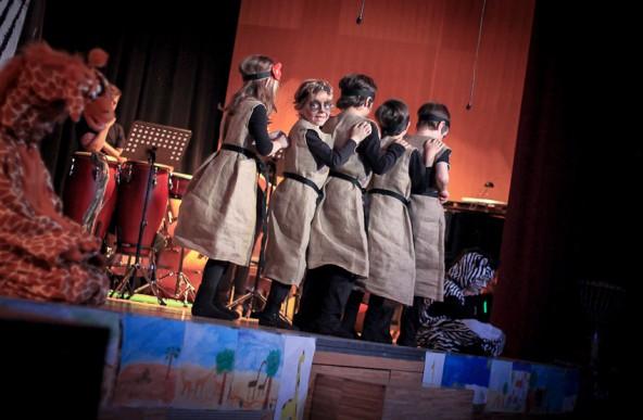 """""""Wir wollen zusammenleben"""" war das Motto des Kindermusicals in Sillian: Foto: Florian Wiedemayr"""