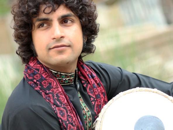 Haider Kahn begeistert vor allem mit seinen spektakulären Solos.