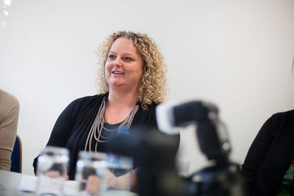 """""""Kommunikation ist das wichtigste Instrument bei der Jobsuche"""", ist sich Simone Lukasser sicher."""