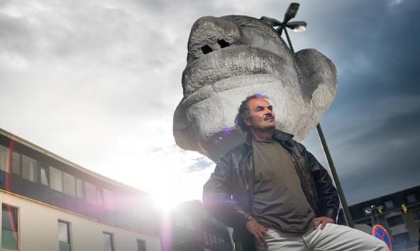Hannes Neuhold hat einen Käufer und damit eine neue Bleibe für sein monumentales Werk gefunden.