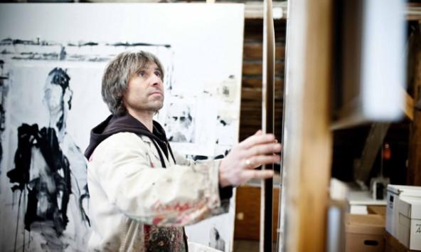 Peter Raneburger in seinem Matreier Atelier. Foto: Miriam Raneburger