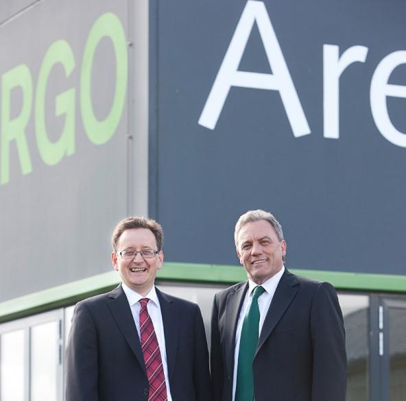 Der Macher und der Redner - RGO-Geschäftsführer Thomas Diemling (links) und Obmann Franz Ganeider. Foto: Tschurtschenthaler