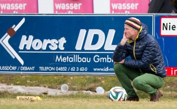 Trainer Bernhard Zoier war am Ende nicht restlos aber doch zufrieden.
