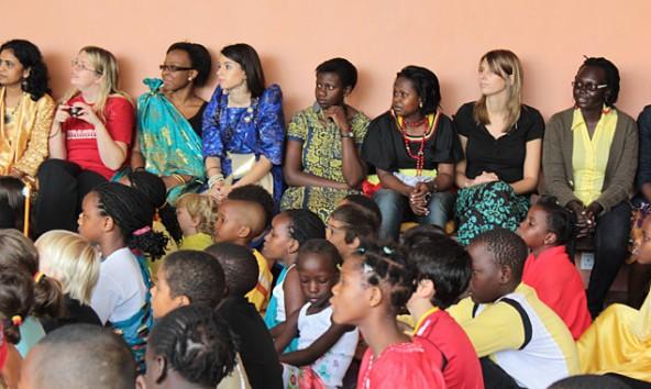 Die Ambrosoli International School in Bugolobi ist bunt in jeder Hinsicht.