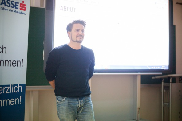 Viktor Schaider coachte die Schüler in einem zweitätigen Workshop.