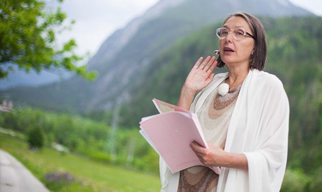Landesrätin Christine Baur möchte langfristig planen und nicht nur momentane Lösungen suchen. Foto: Dolomitenstadt/Egger