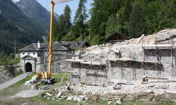 Den Löwenanteil der 89. Euro macht mit 40.000 Euro die Restaurierung und Konservierung der Mauern der Lienzer Klause aus. Foto: VP Lienz