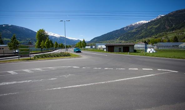 Von der Bürgeraustraße auf die B100 Richtung Innenstadt zu gelangen ist derzeit ein schwieriges Unterfangen. Fotos: Dolomitenstadt/Egger