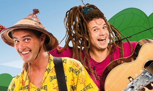 Die Lieder von Rodscha und Tom punkten mit witzigen Texten und Melodien. Foto: Hubert Lankes