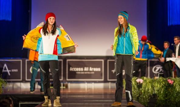 Die Lienzer Dolomitenhalle – für Blanik nicht der passende Ort für ein Skitourenfestival. Vergangenes Jahr präsentierten heimische Models im Rahmen des Events Wintermode. Foto: Expa/Michael Gruber