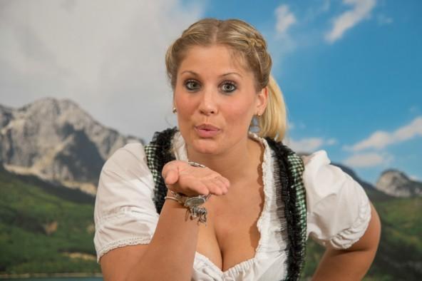 """""""Im Online-Voting geht es um jede einzelne Stimme"""", hofft Lisa-Maria Klaunzer auf verlässliche """"Voter"""" aus ihrer Heimat. Foto: Kleine Zeitung GmbH & Co KG /Jürgen Fuchs"""