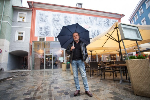 Am Mittwoch gibt es noch eine Führung mit dem Künstler Oskar Stocker. Foto: Dolomitenstadt/Egger