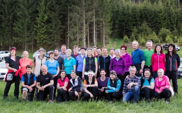 Auch eine rund 30-köpfige Gruppe Kalser pilgerten über die vier Kärntner Berge.