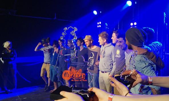 "Sie haben es geschafft!! Jimmy and the Goofballs gewannen am 1. Mai das Finale des bandcontests ""Local Heroes"" in Podersdorf. Foto: Facebook/Local Heroes"