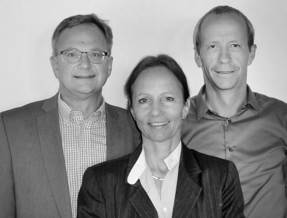 Neues Führungsteam für TAL Österreich: Executive Manager Andreas Landsteiner, TAL-Geschäftsführerin Ulrike Andres, Betriebsleiter Christian Wilhelmer