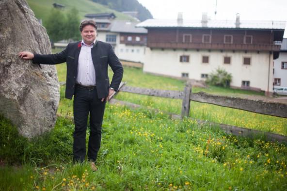 """""""Wir wollten etwas machen, das ökonomisch und ökologisch sinnvoll ist."""" Martin Fürhapter ist mit seinem Projekt in Innervillgraten gescheitert. Vorerst, wie er betont. Foto: Dolomitenstadt/Egger"""