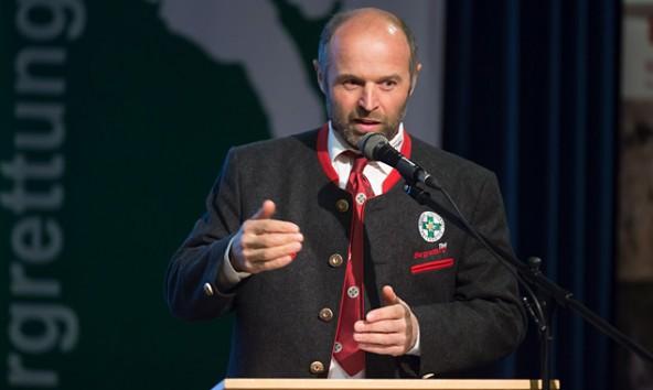 Peter Ladstätter, Bezirksobmann der Osttiroler Bergrettung, zog Bilanz. Fotos: Brunner Images