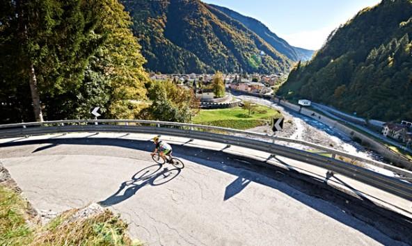 Der neue Radmarathon führt über das Nassfeld nach Pontebba und retour durch's Lesachtal nach Lienz. Foto: LRC/Feigenbauer