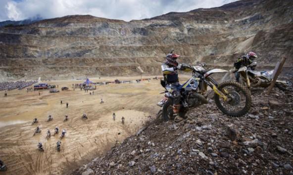 Der Virger Manuel Jestl landete beim Erzbergrodeo 2014 auf Platz 37. Seine Fahrt dokumentierte der 23-Jährige mit einer Helmkamera. Foto: Motorradreporter